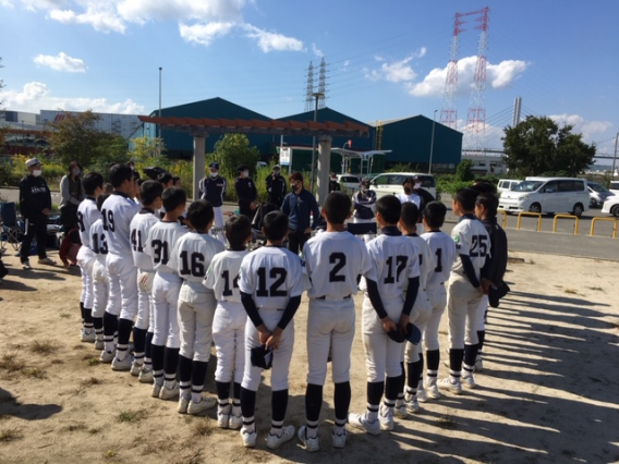 ヤングリーグ秋季大会東関西予選